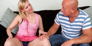 Horny Housewife Riding A Big Hard Cock