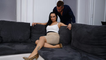 Horny Milf enjoys her toyboy's big cock