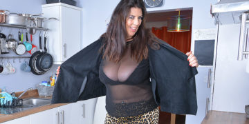 Lulu Shows Off Her Big Tits And Pleases Herself