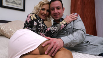 Naughty British Housewife Doing Her Strapping Lover