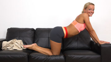 Naughty Mom Playing With Herself During Sporting