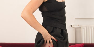 Naughty mom getting ready for a hard cock